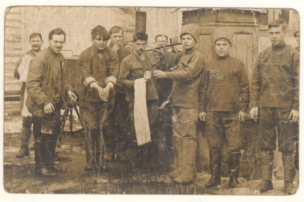 Bolševikai Liciškėnuose