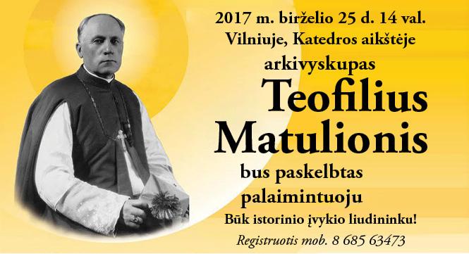 Teofiliaus paskelbimas palaimintuoju
