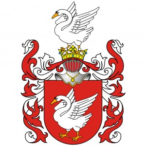 Holovcinskių Gulbės herbas