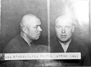 Sovietų kalėjime kalėjusio fotografija