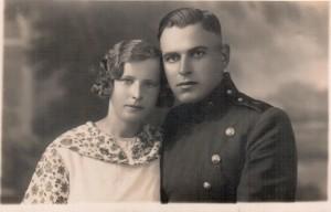 Antanas ir Domicelė Baltrušaičiai