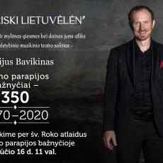 Egidijaus Bavikino koncertas
