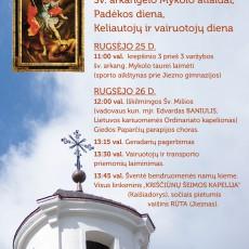 Jiezne Šv. arkangelo Mykolo atlaidai, Padėkos diena, Keliautojų ir vairuotojų diena